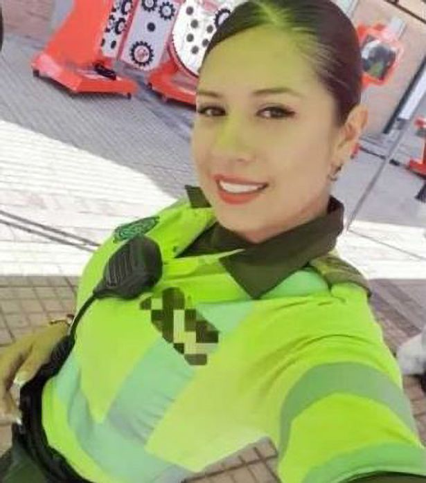 She works at Bogota Police Department in Colombia