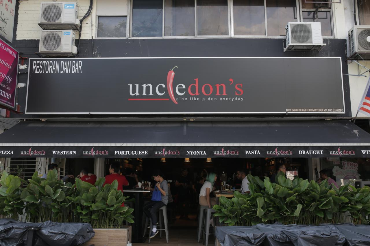 Uncle Don's SS2   Restaurants in SS2, Kuala Lumpur