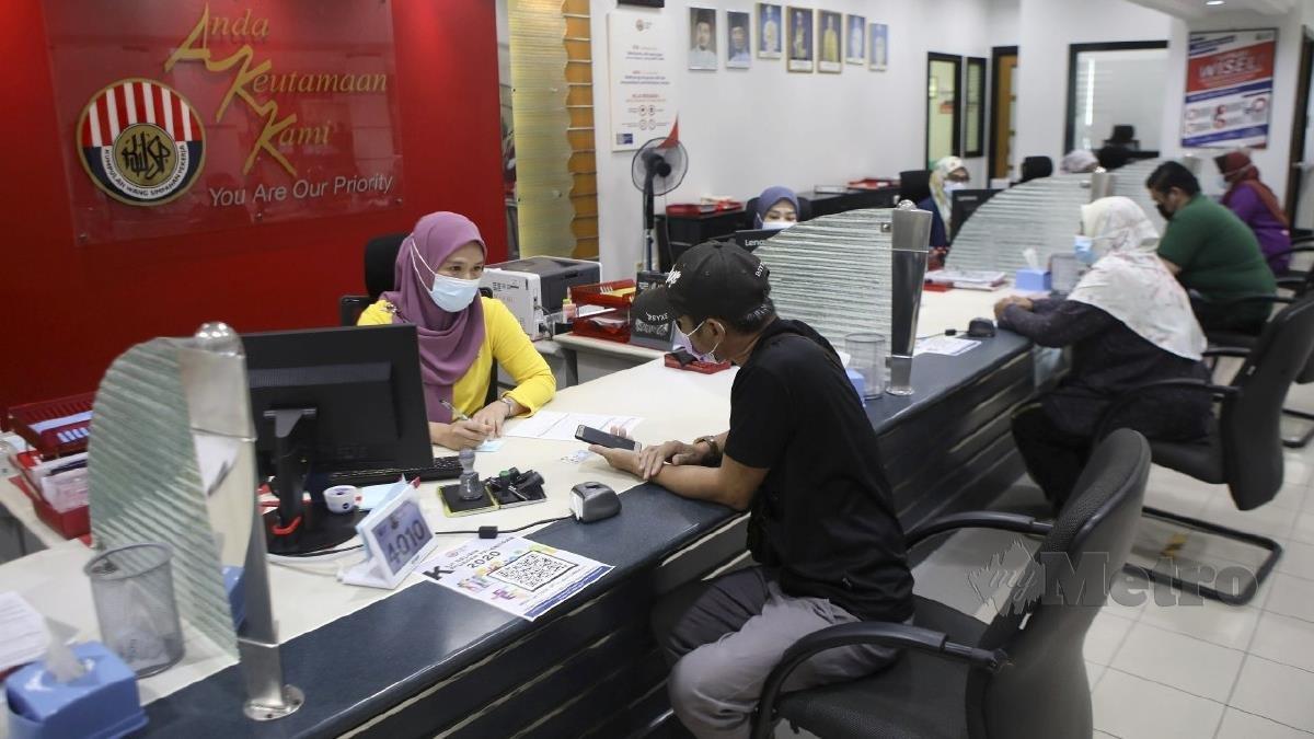 Buka kaunter khas daftar i-Akaun KWSP | Harian Metro
