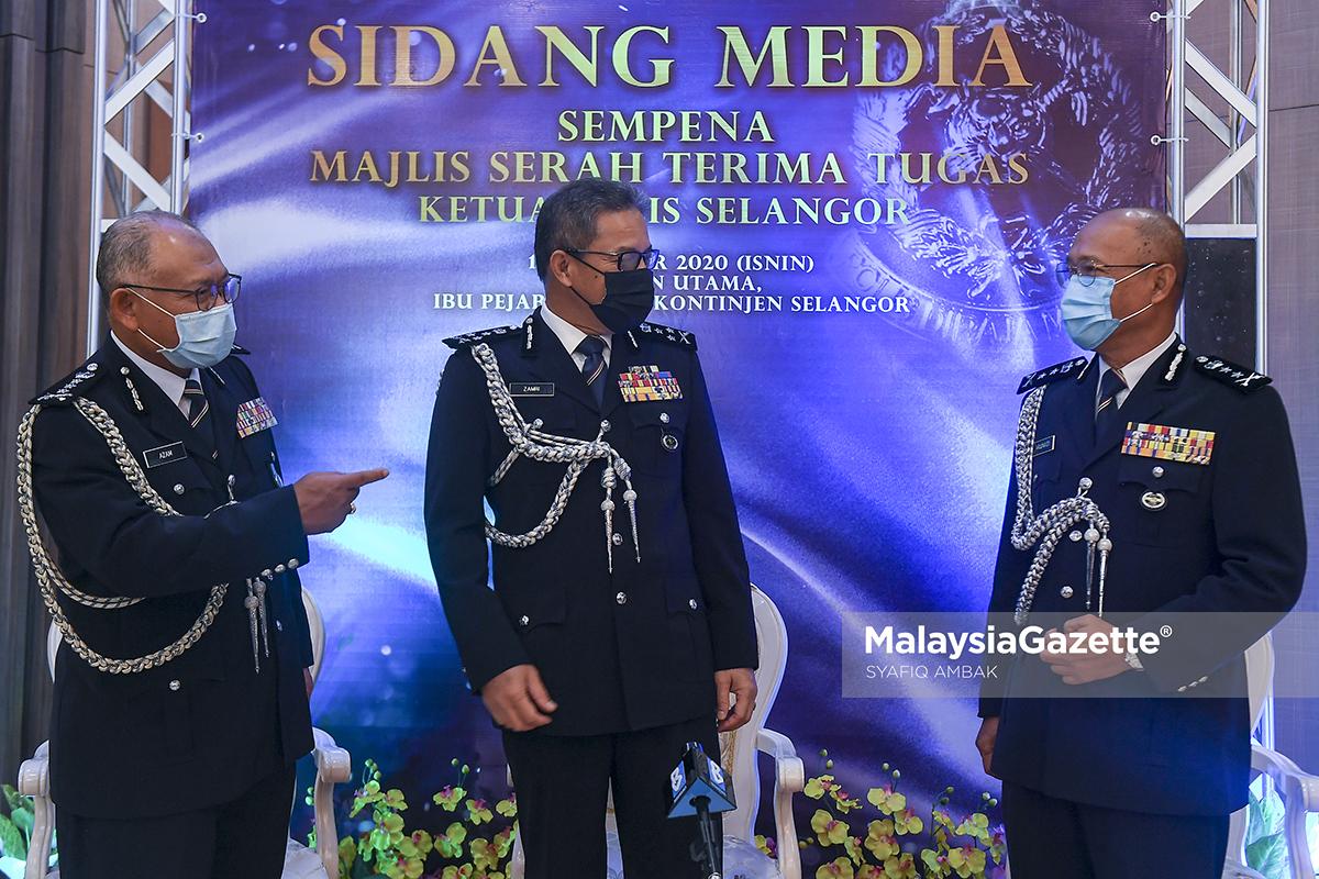Arjunaidi dilantik Pemangku Ketua Polis Selangor