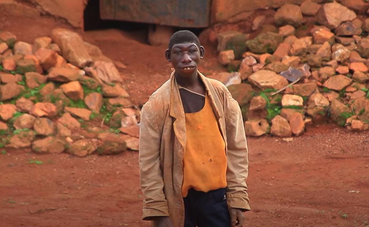 Zanziman Ellie, 21, lives in a jungle in Rwanda, East Africa