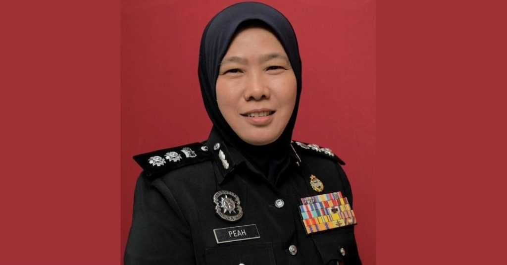 ACP Rupeah first woman district police chief in Johor - Cyber-RT