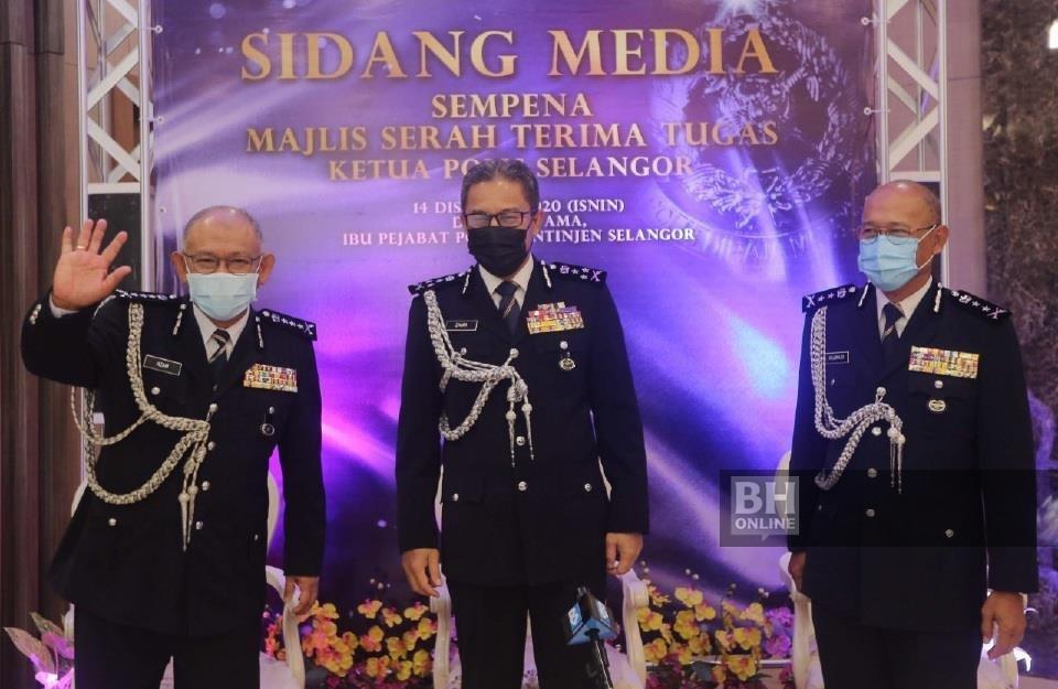 Arjunaidi pangku Ketua Polis Selangor mulai esok