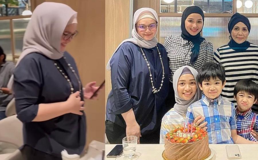 Lagi, Didakwa Baby Bump Semakin Kelihatan, Siti Nurhaliza Sedang Hamil Adik Aafiyah? | Gempak